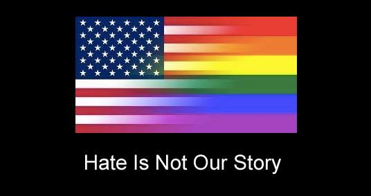 Hate is not our story