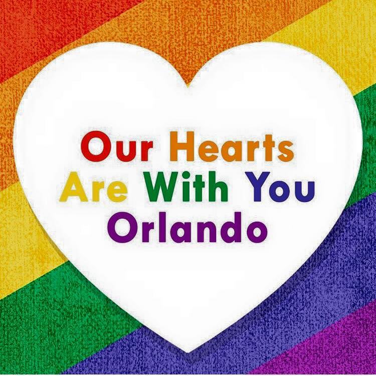 Our Hearts Are With You Orlando